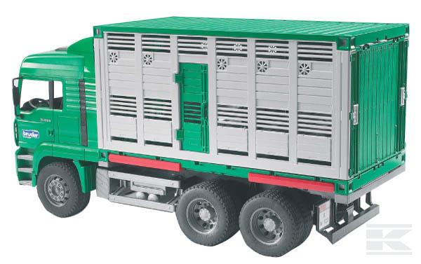 BRUDER 2749 Vůz pro přepravu dobytka