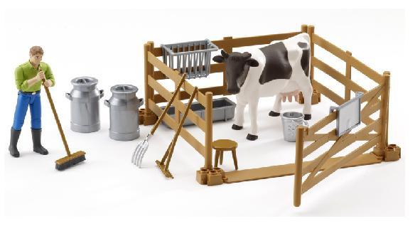 BRUDER 62600 Bworld zemědělský set, figurka