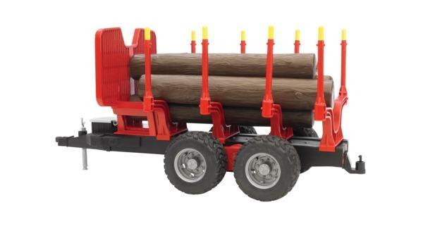 BRUDER 2251 Vyvážecí přívěs na dřevo