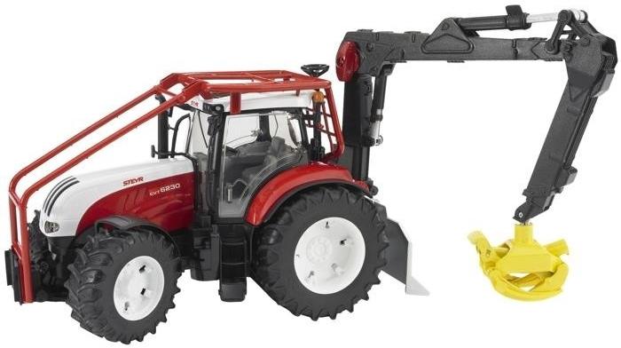 BRUDER 3092 Lesní traktor Steyr CVT 6230