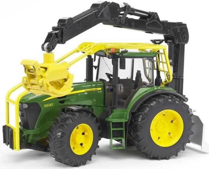BRUDER 3053 Lesní traktor John Deere 7930