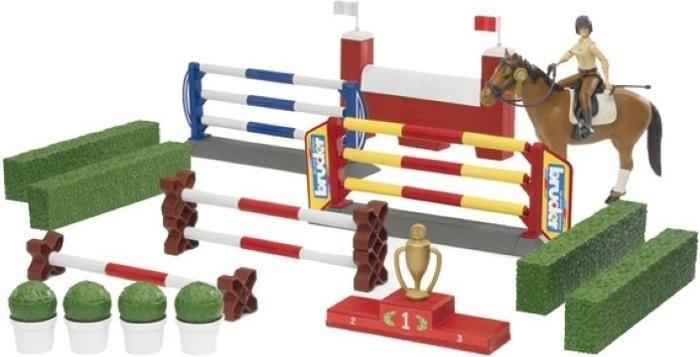 BRUDER 62530 překážkový set s figurkou