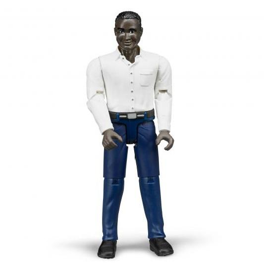 BRUDER 60004 Bworld figurka muž tmavé pleti