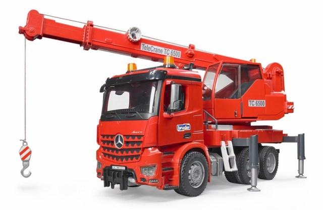 BRUDER 3670 MB AROCS stavební autojeřáb