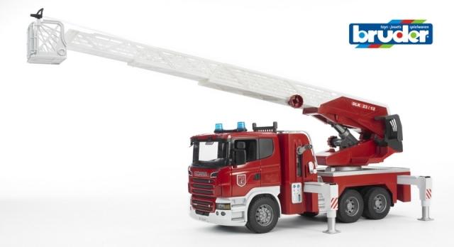 BRUDER 3590 SCANIA R-serie hasičské auto