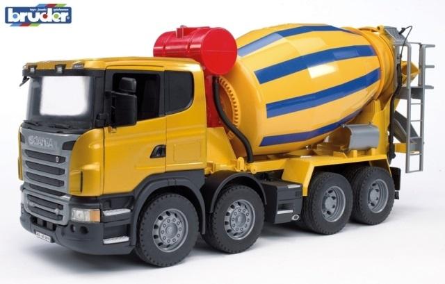 BRUDER 3554 SCANIA R-série domíchávač betonu